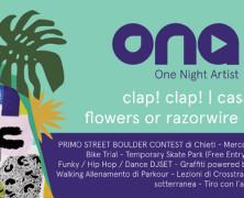ONE NIGHT ARTIST: ecco i concerti