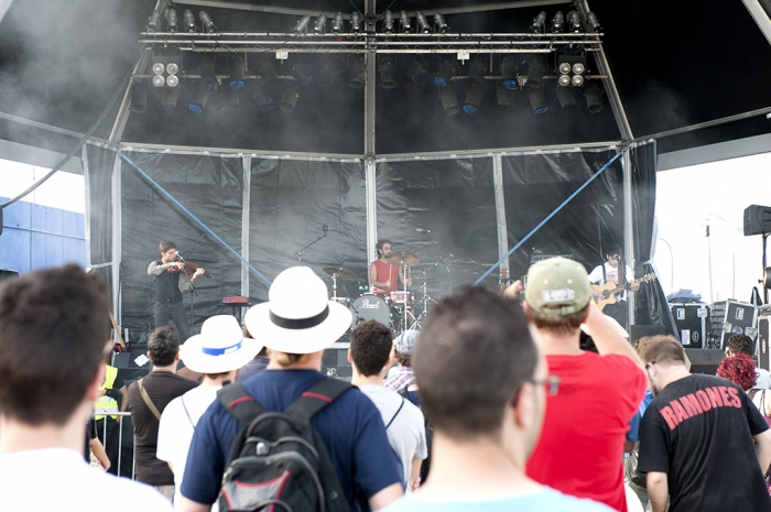 San Miguel, Primavera Sound 2012, Barcelona, The King of The Opera