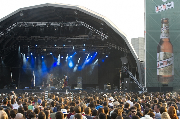 San Miguel, Primavera Sound 2012, Barcelona, King Of Convenience